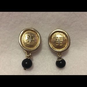 Jewelry - Vintage Givenchy Signature Drop Earrings
